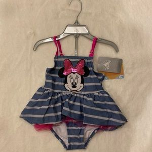 Minnie Mouse 2 Piece Bathing Suit